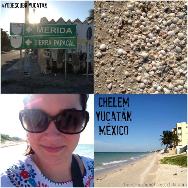 A day in Chelem, Yucatan, Mexico