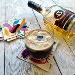 Carajillo coffee cocktail made with espresso and Licor 43