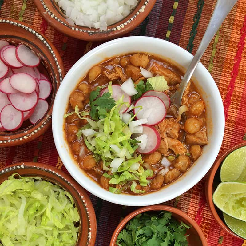 Slow Cooker Pozole Rojo The Other Side Of The Tortilla
