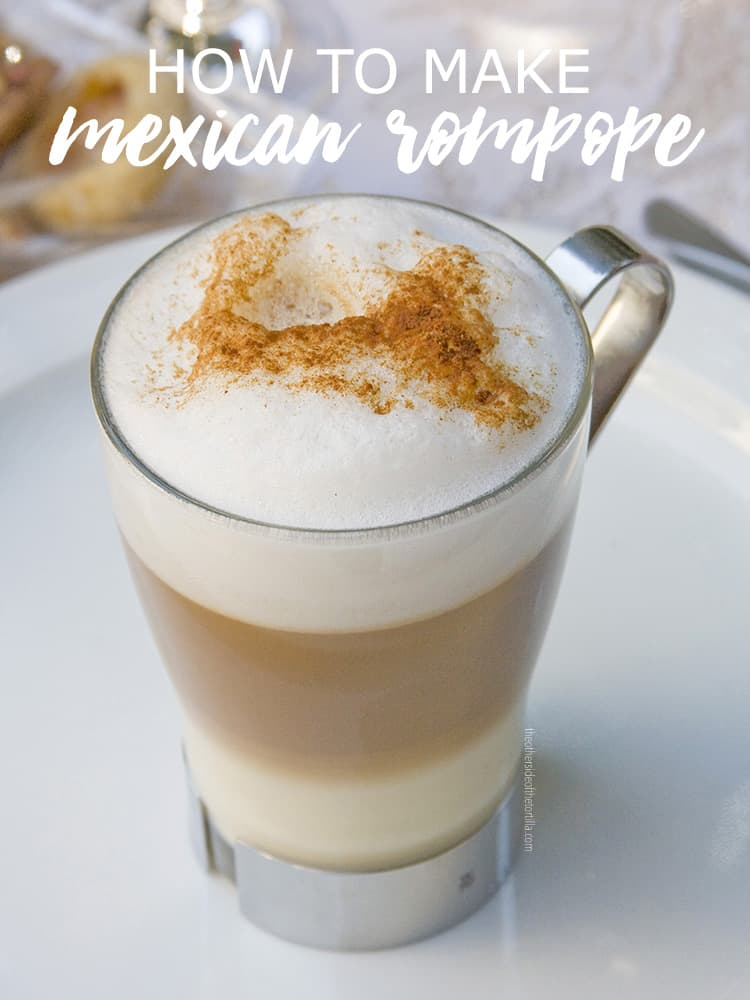 rompope or Mexican eggnog