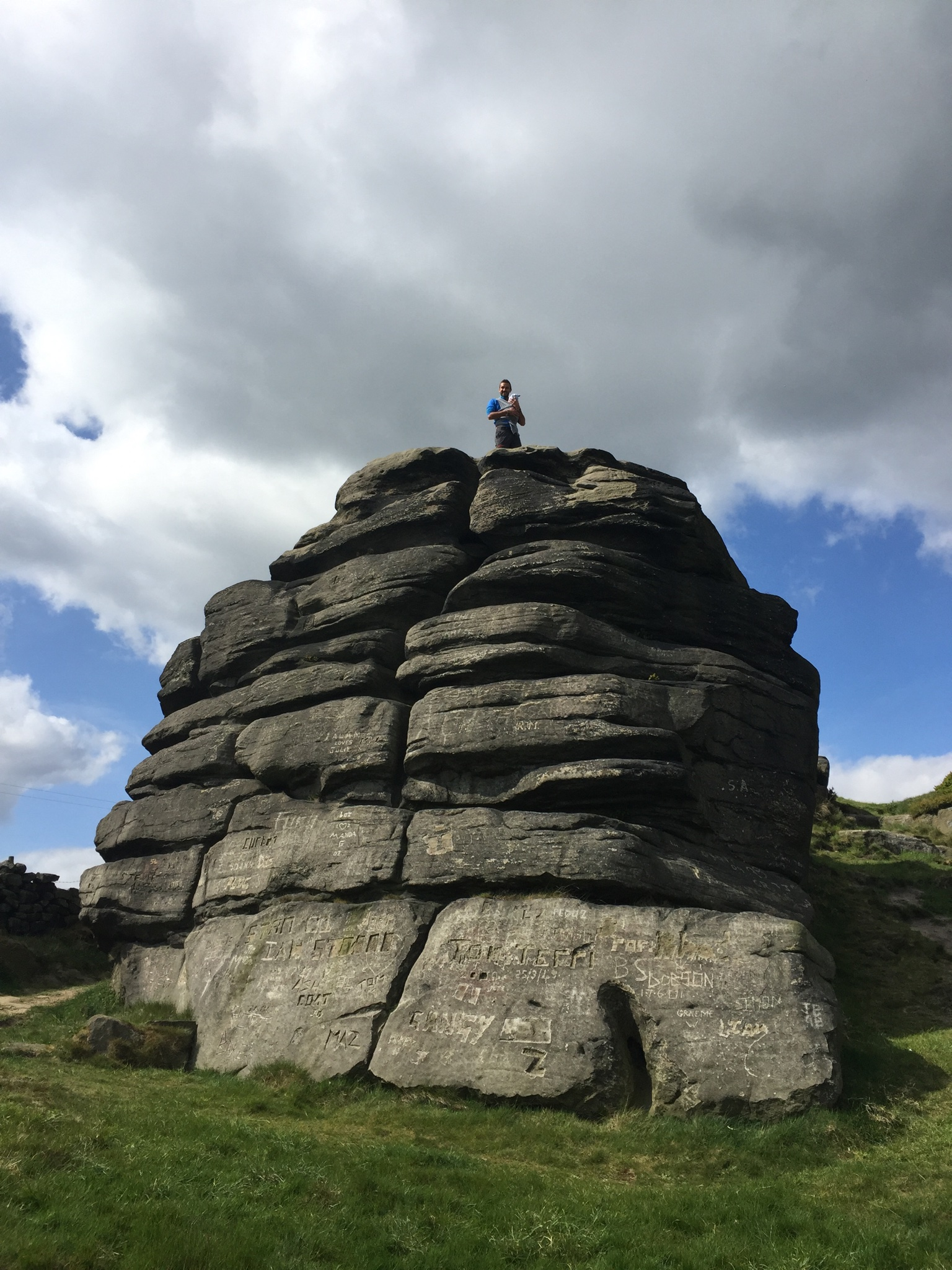 Great Rock: Sonny's first summit