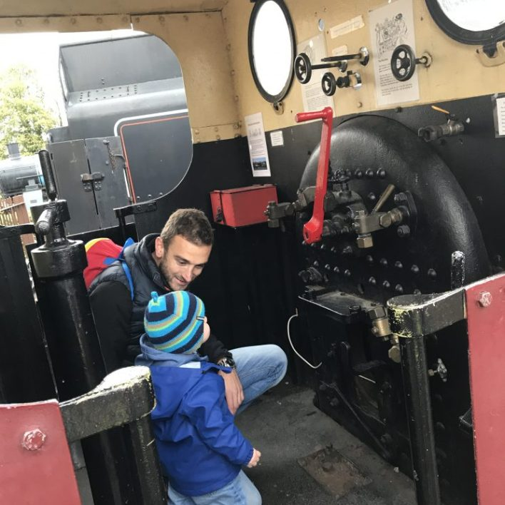meeting thomas at the nene valley railway