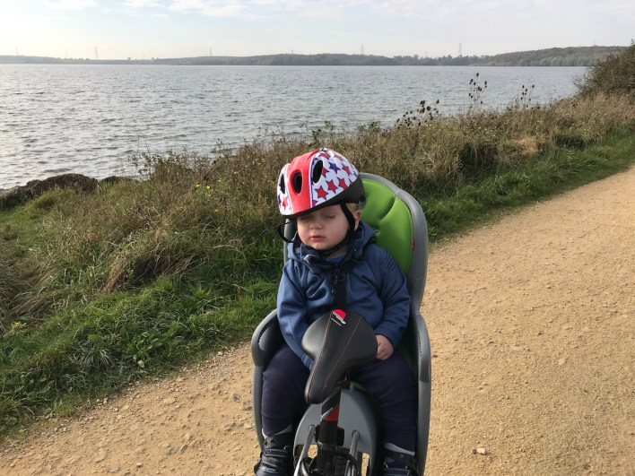 cycling round Grafham Water