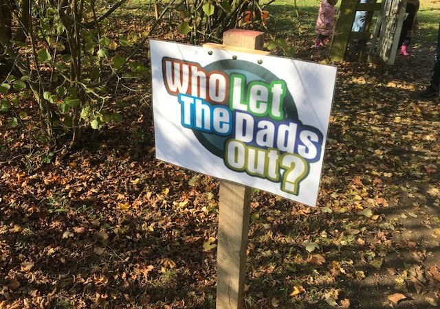 Who Let The Dads Out?   Hinchingbrooke Park