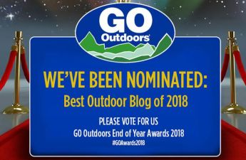 Go Outdoors blog awards 2018 nominees