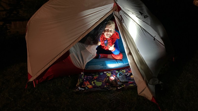 Winter camping with kids – good or bad idea?