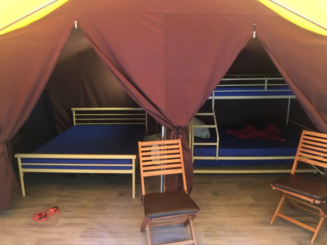 Ready Camp bedrooms