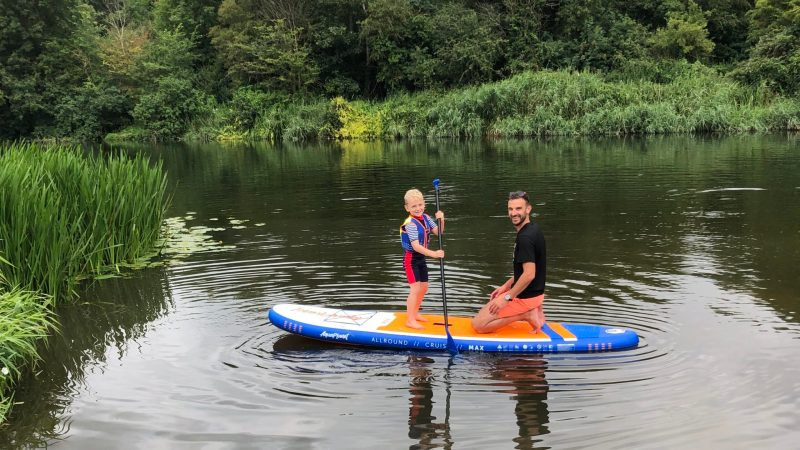 What's the best stand-up paddleboard for families?