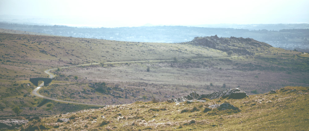 Wildcamping on Dartmoor | Foggintor Quarry Trail View