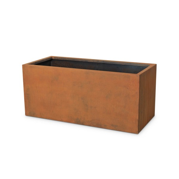 Moderna Rectangular Corten Steel Planter