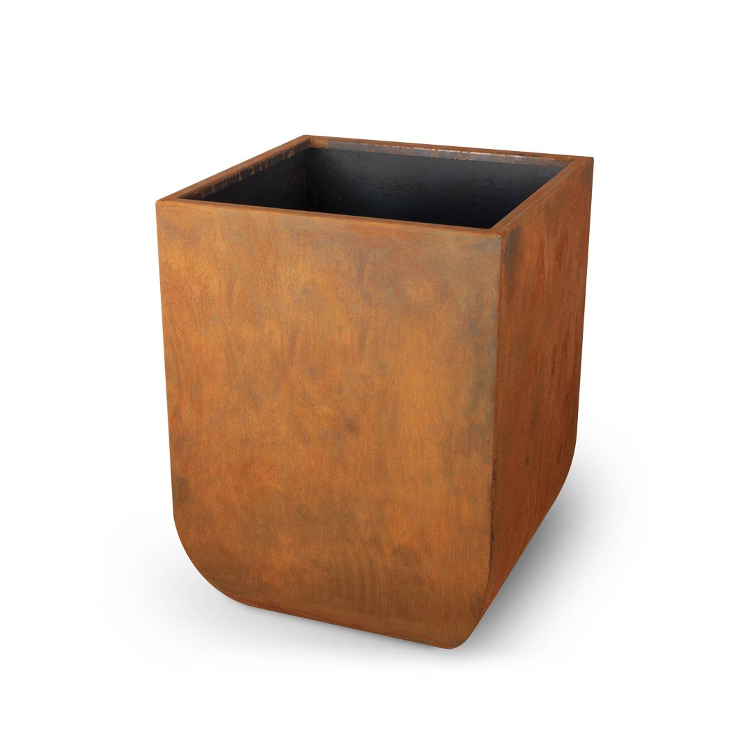 Vertical Tuscon Corten Steel Planter