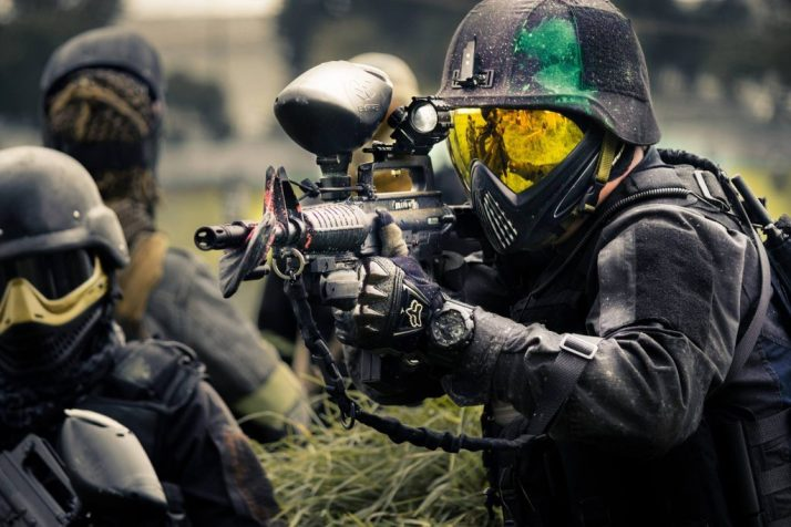 paintball first time playing