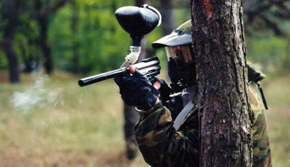 Paintball alone