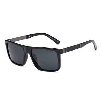 DONNA Trendy Oversized Square Aviator Polarized Sunglasse