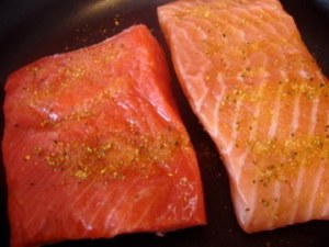 Farm Vs Wild Salmon