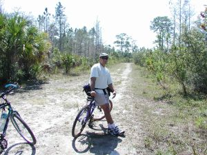 Biking the Everglades Trails