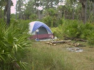 My simple Everglades campsite