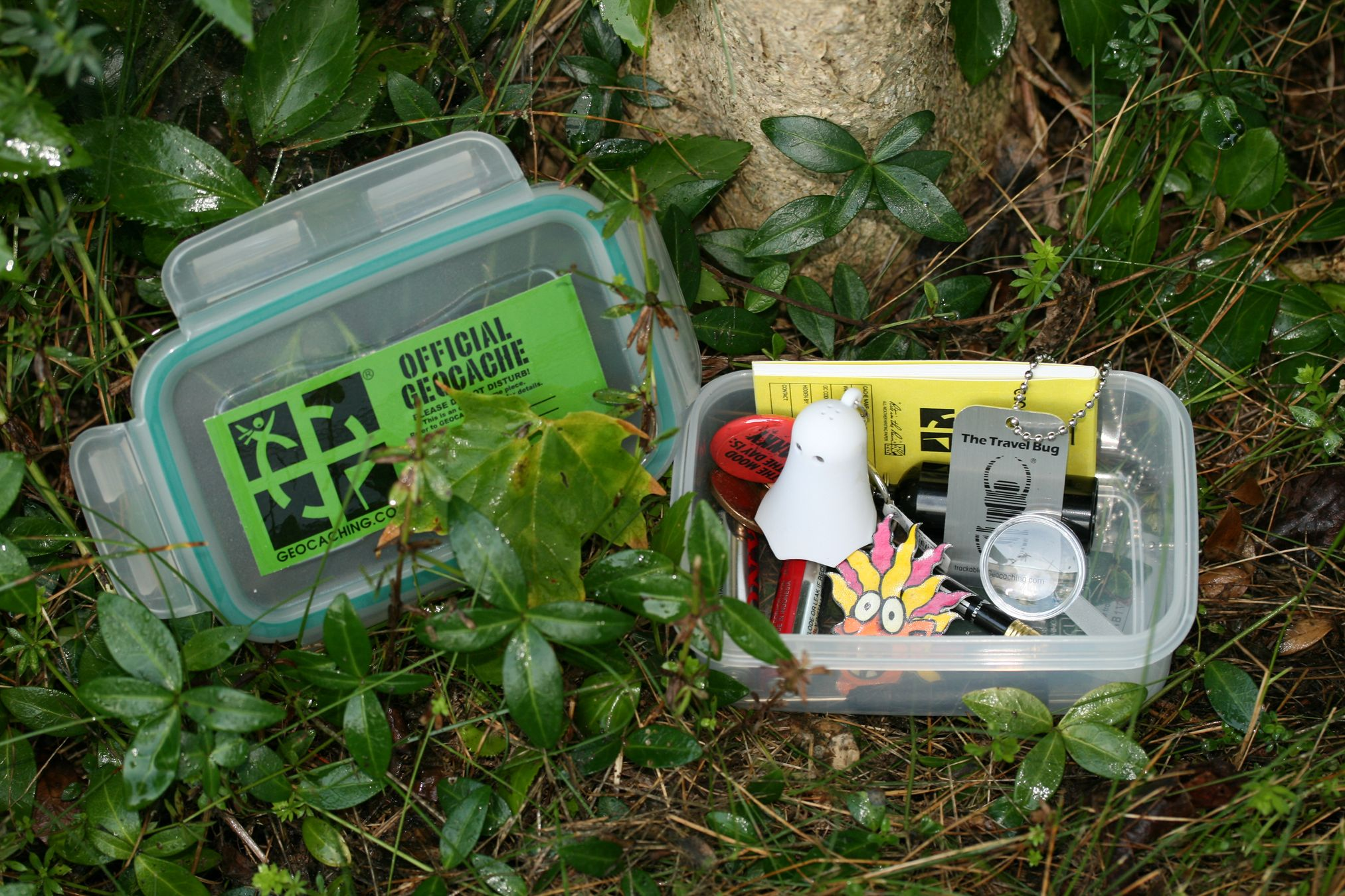 How to Maintain a Geocache photo