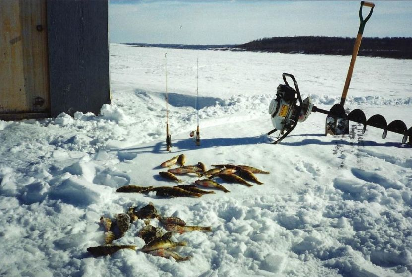 Ice fishing Tips