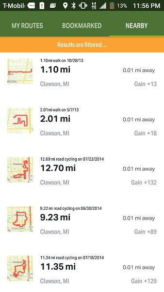 Map-My-Hike-Screenshot - The Outdoor Soul on