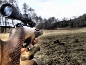 rifle scope under 500