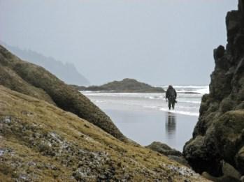 Me, wandering the beaches
