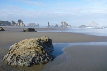 Island in the sand | Coquille Point, Oregon | May