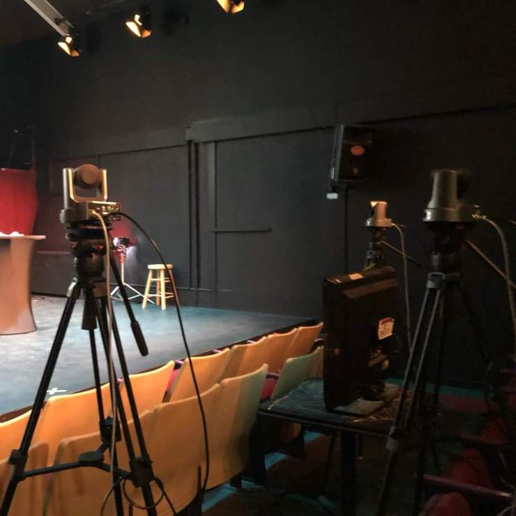 Stream your show at the OV Stages Centre