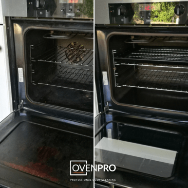 Before & After OvenPro Cleaning