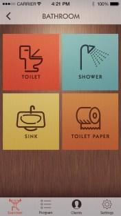 2. Bathroom Screenshot (The House Trainer)