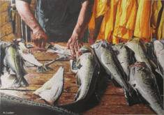 """""""Today's Catch"""" by Allan Thomas Loder"""