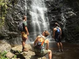 Waterfall Kaau Crater