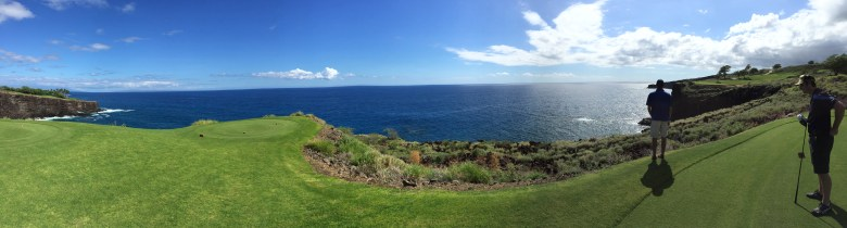 Manele 12th hole