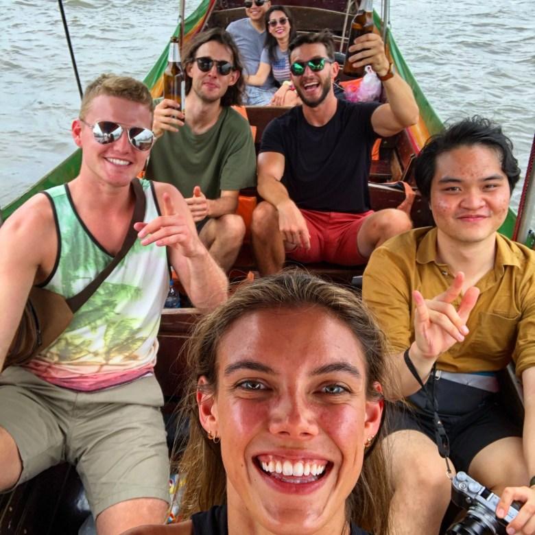 Long Boat Tour in Bangkok, Thailand