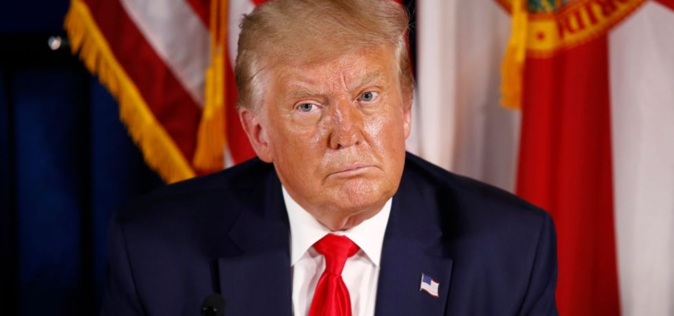 Sweaty Trump