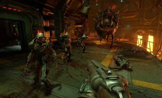 doom 2016 screenshots