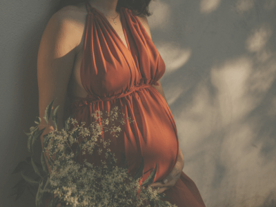The Mother Archetype. Woman Pregnant