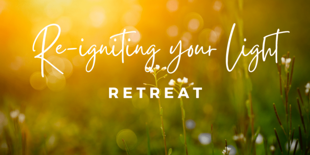 Spring image for re-igniting your light retreat