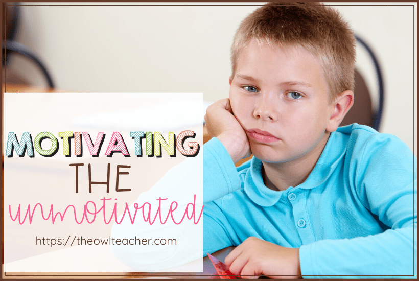 Motivating students in a technology filled 21st century classroom can be challenging! So how can you get student engagement and motivation in your elementary classroom? Check out these ideas and tips to motivate students!