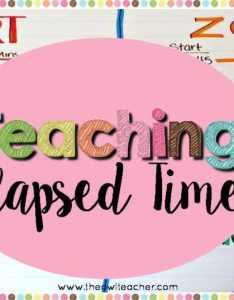 also strategies to teach elapsed time the owl teacher rh theowlteacher
