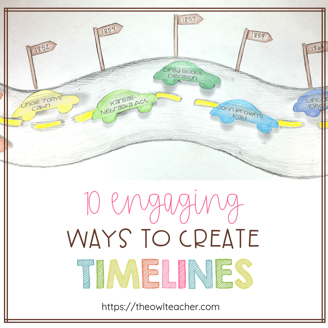 hight resolution of 10 Engaging Ways to Create Timelines - The Owl Teacher