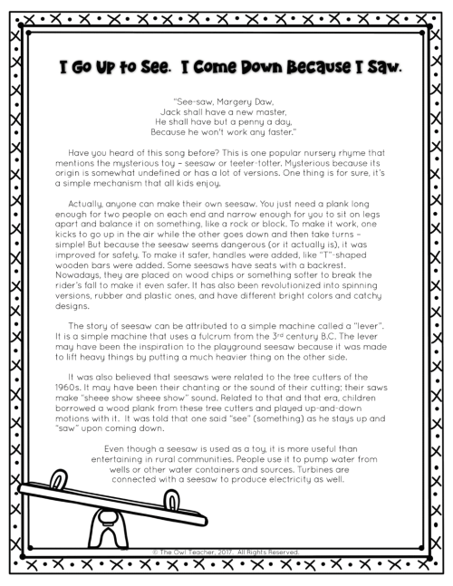 small resolution of Toy Inventions Nonfiction Reading Passages Printable \u0026 Digital (Google) -  The Owl Teacher