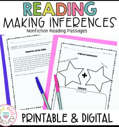 Inference Reading Practice Printables \u0026 Digital (Google) - The Owl Teacher [ 1152 x 1152 Pixel ]
