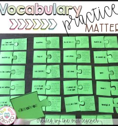 Matter Vocabulary Games and Worksheets Practice - The Owl Teacher [ 1200 x 1197 Pixel ]