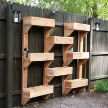 Vertical Wooden Box Planter Owner-builder Network
