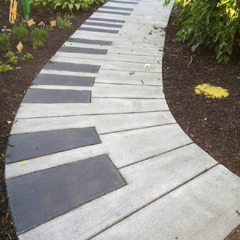 Beautiful DIY Garden Paths And Inspiration