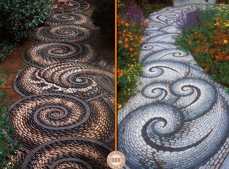 Beautiful DIY Garden Paths And Inspiration