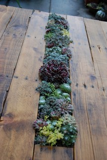 Diy Succulent Table Recycled Pallets And Legs