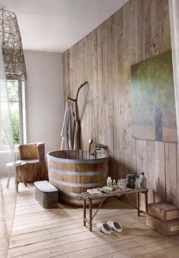 Rustic Bathrooms Owner-builder Network