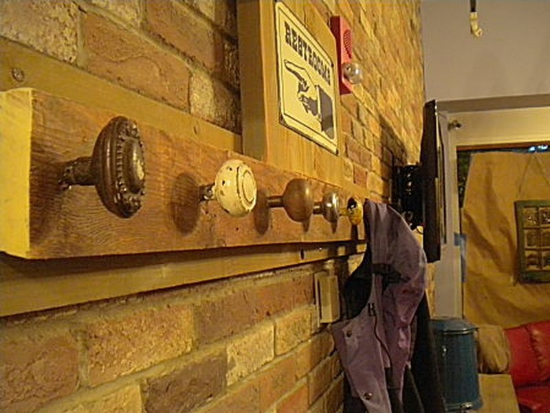Coat hooks  just hanging around  The OwnerBuilder Network
